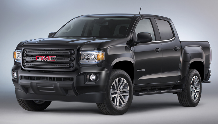 2016 Gmc Canyon Nightfall Edition Front Three Quarter